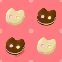 084 - Cookie Cat Tile