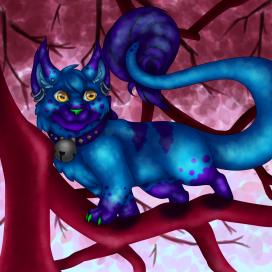 A Tipsy Kitty, or Kipsy, in their natural habitat!