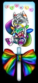 Another fursona badge